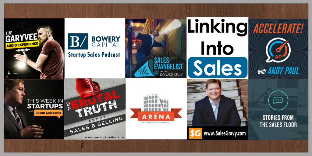10 best sales Podcasts