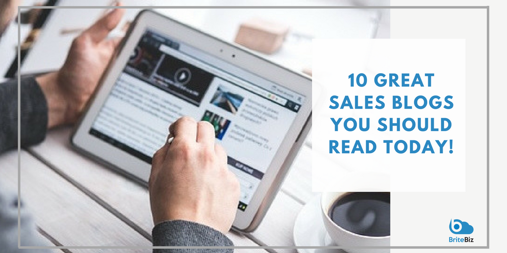 10 Great Sales Blogs You Should Read Today